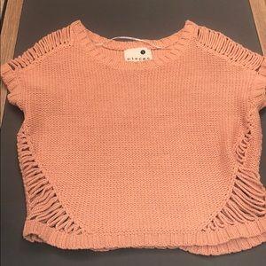 Kensie sweater in Rosie peach